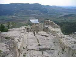 Изглед от античния средновековен град Хиперперакион