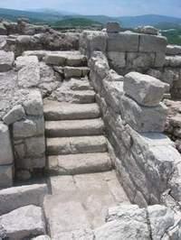 Стълбището към кулата
